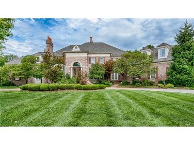 St Louis Single Family Home For Sale: 1103 Highland Pointe Drive