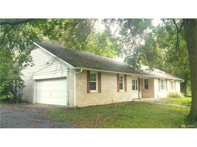 Edwardsville Single Family Home For Sale: 7433 State Route 143