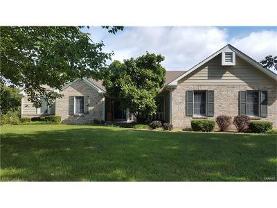 Augusta, Dutzow Single Family Home For Sale: 9 River Bluff Court