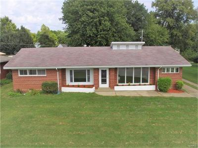 Single Family Home For Sale: 7911 West Main