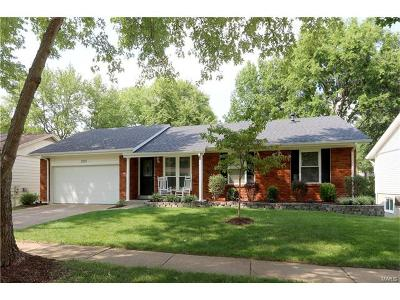 Manchester Single Family Home Contingent No Kickout: 1219 Dorne Drive