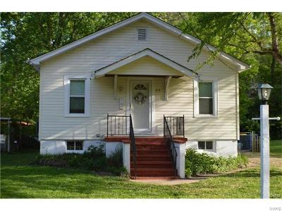 Webster Groves Single Family Home For Sale: 414 West Kirkham Avenue