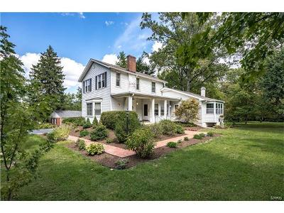 St Louis Single Family Home For Sale: 1012 South Spoede Road