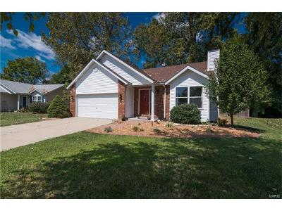 Glen Carbon Single Family Home For Sale: 115 Bayhill
