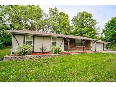 Glen Carbon Single Family Home For Sale: 5721 State Route 162