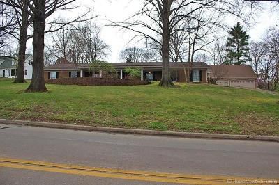 Scott County, Cape Girardeau County, Bollinger County, Perry County Single Family Home For Sale: 2206 Cape Rock Drive