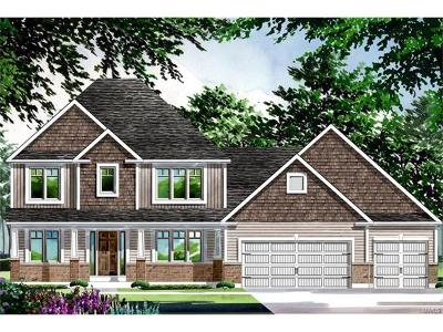 Cottleville Single Family Home For Sale: Construction@patriot's Ridge