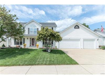 Dardenne Prairie Single Family Home Contingent No Kickout: 5 Pine Forest Court