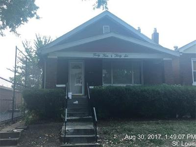 St Louis Single Family Home For Sale: 4436 Labadie Avenue