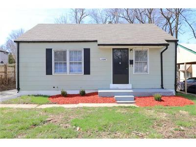 Single Family Home For Sale: 6309 Witsell Avenue