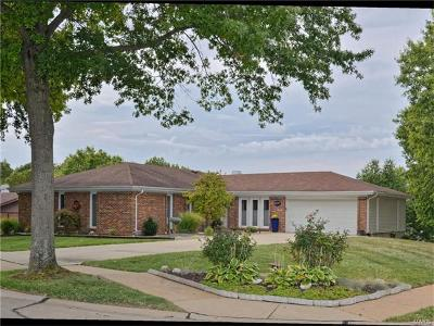 St Louis Single Family Home For Sale: 5737 Lost Brook Court