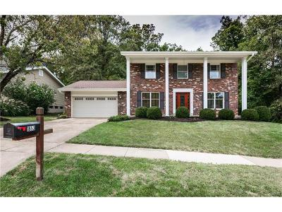 Chesterfield Single Family Home For Sale: 1853 Schoettler Valley Drive