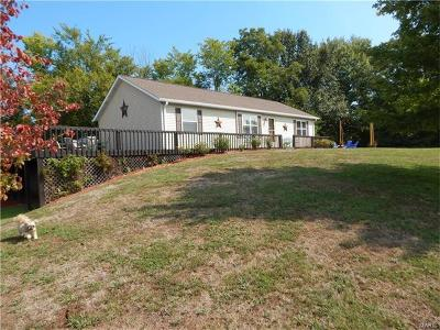 Red Bud Single Family Home For Sale: 9501 Ll Road
