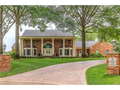 St Louis Single Family Home For Sale: 15 Bellerive Country Club