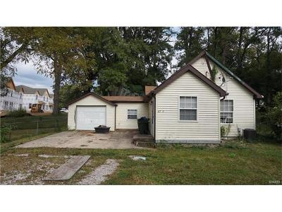 Godfrey IL Single Family Home For Sale: $25,000