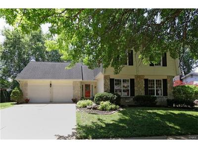 Des Peres Single Family Home For Sale: 13140 Dougherty Ridge Court