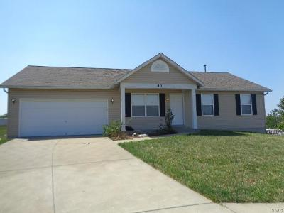 Wentzville Single Family Home For Sale: 43 Woodwind Court