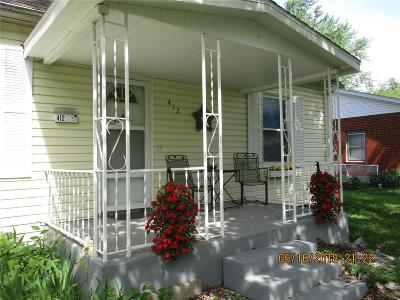 Single Family Home For Sale: 412 Myers