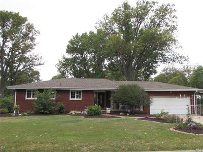 Godfrey IL Single Family Home For Sale: $155,000