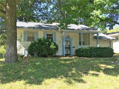Belleville IL Single Family Home For Sale: $55,000