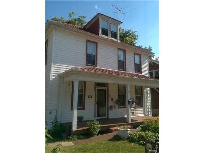 Franklin County Single Family Home Contingent Short Sale: 912 West 5th