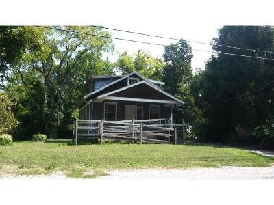 Alton IL Single Family Home For Sale: $27,900