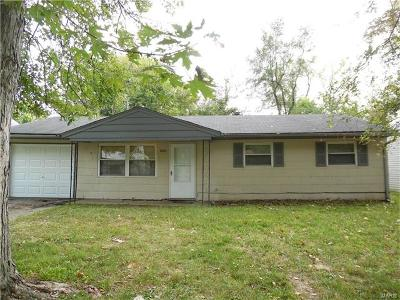 Caseyville Single Family Home For Sale: 8804 Parkdale Drive