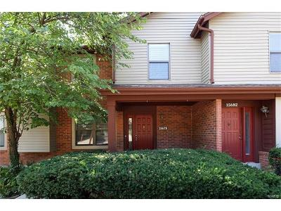 Chesterfield MO Condo/Townhouse For Sale: $179,900