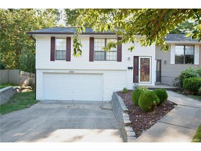 ST CHARLES Single Family Home For Sale: 3031 Bluffwood Drive
