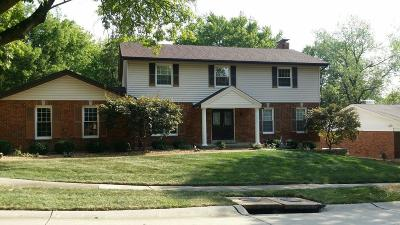 Chesterfield MO Single Family Home For Sale: $409,000
