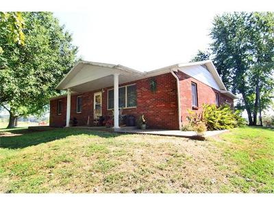 Cape Girardeau County Single Family Home For Sale: 2270 Greensferry Road