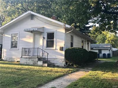 Alton IL Single Family Home For Sale: $53,000