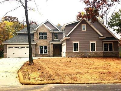 Ballwin Single Family Home For Sale: 2 Bb The Carrington @ Essen