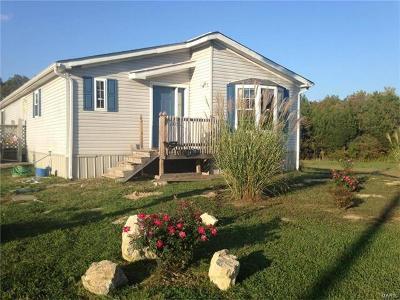 Beaufort, Leslie Single Family Home For Sale: 600 Jaudon Road Northeast