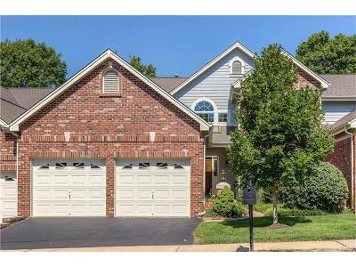 Chesterfield Condo/Townhouse For Sale: 14220 Woods Mill Cove Drive