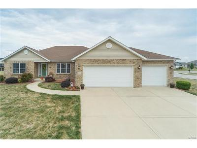 Mascoutah Single Family Home For Sale: 1000 Hunters Trail