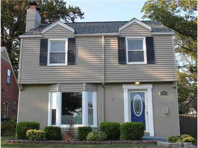 St Louis Single Family Home For Sale: 9109 Moritz Avenue