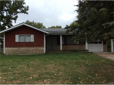 Caseyville Single Family Home For Sale: 8704 Delmore Terr