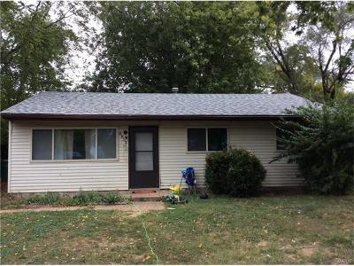 Caseyville Single Family Home For Sale: 8831 Bermuda Avenue