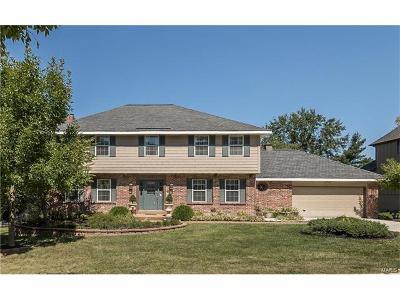 ST CHARLES Single Family Home For Sale: 1618 Gettysburg Landing