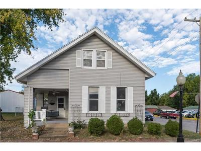Red Bud Single Family Home For Sale: 323 North Main Street North