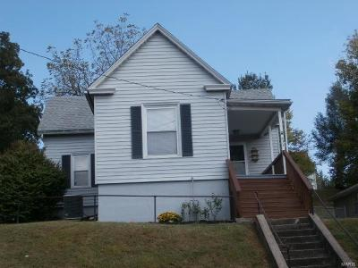 Hannibal MO Single Family Home For Sale: $75,000