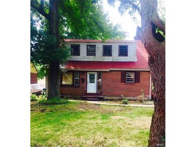 St Louis MO Single Family Home For Sale: $155,000