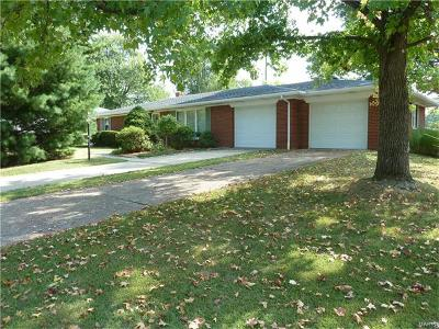Belleville IL Single Family Home For Sale: $124,900