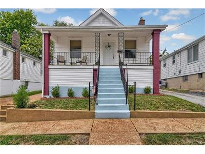 St Louis MO Single Family Home For Sale: $116,000