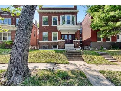 St Louis Single Family Home For Sale: 600 Dover Place