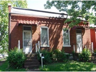 St Louis MO Single Family Home For Sale: $34,500