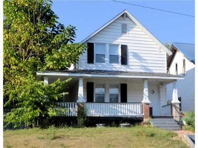Hannibal MO Single Family Home For Sale: $36,000