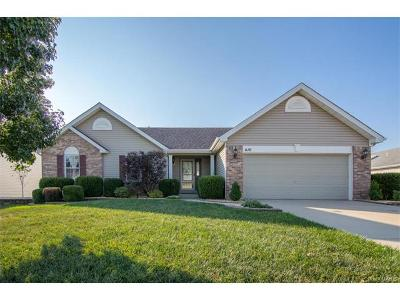 Wentzville MO Single Family Home For Sale: $229,900