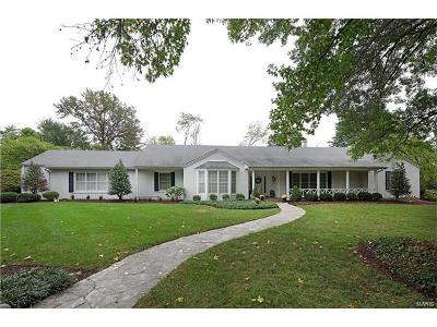 Ladue Single Family Home For Sale: 18 Ladue Manor